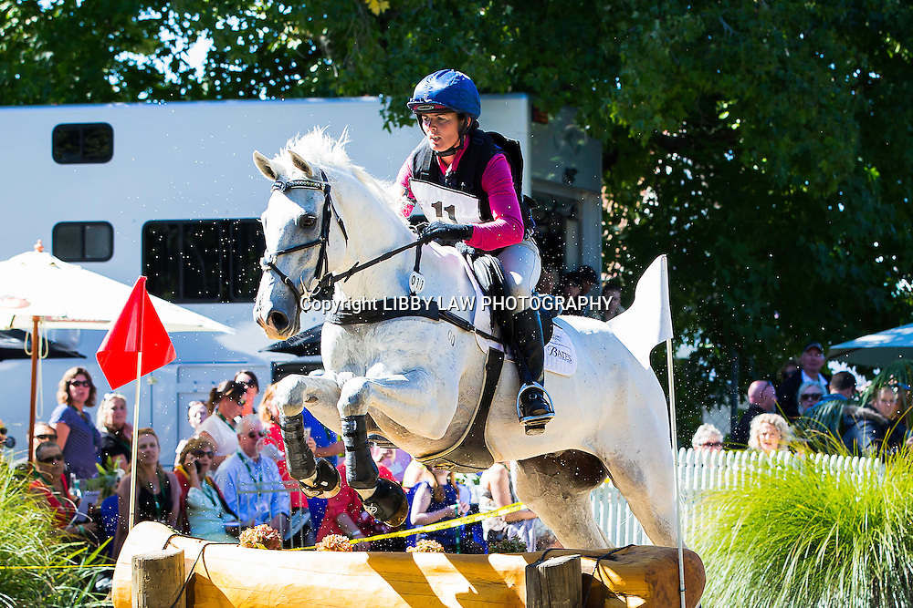 NZL-Emily Cammock (DAMBALA) TITLE WINNER: 1ST-EVENTING: LAND ROVER CIC3* CROSS COUNTRY: 2015 NZL-Farmlands Horse Of The Year Show, Hastings (Saturday 21 March) CREDIT: Libby Law CREDIT: LIBBY LAW PHOTOGRAPHY