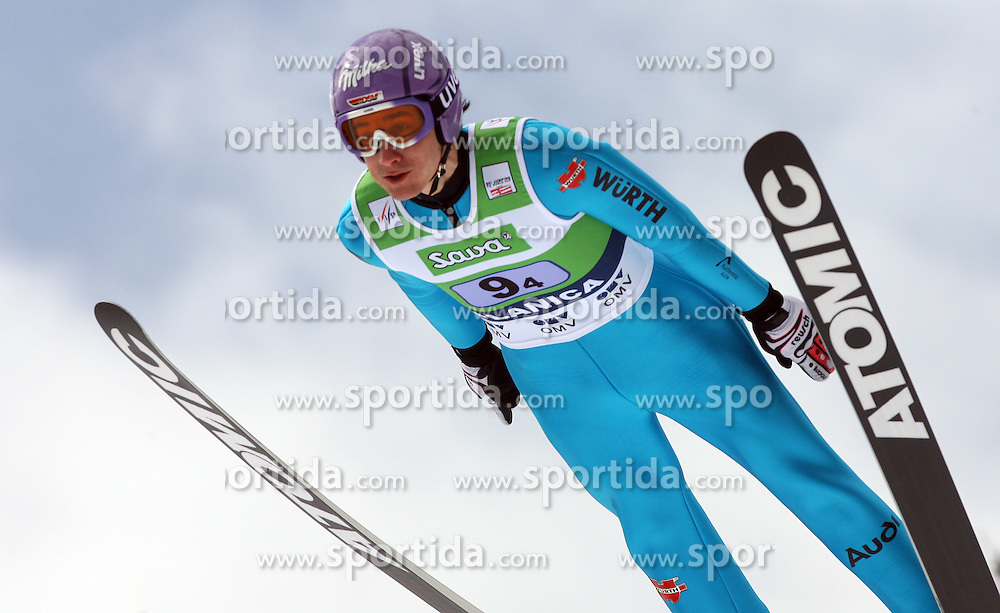 Martin Schmitt (GER) at Flying Hill Team in 3rd day of 32nd World Cup Competition of FIS World Cup Ski Jumping Final in Planica, Slovenia, on March 21, 2009. (Photo by Vid Ponikvar / Sportida)