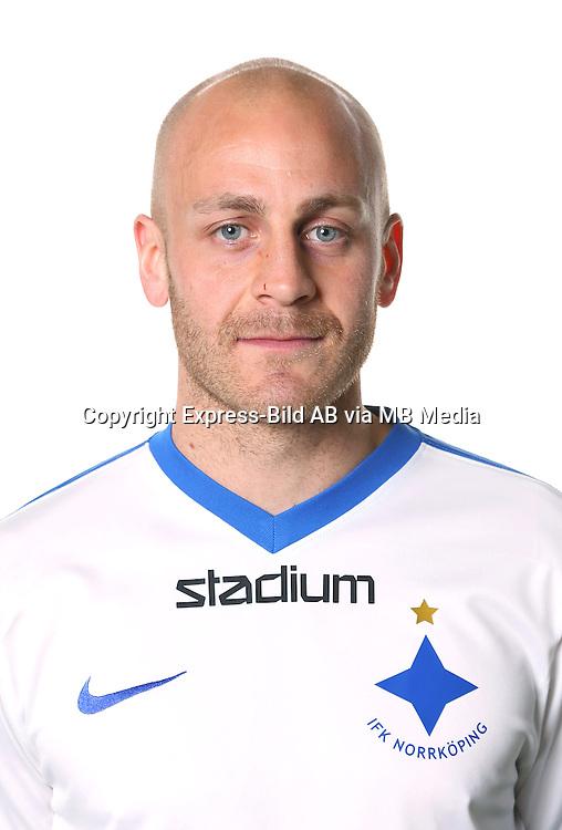 Daniel Sj&ouml;lund<br /> Halvfigur<br /> @Leverans<br /> Allsvenskan 2016<br /> Fotboll