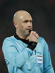 referee Anthony Taylor during the UEFA Nations League A group 1 qualifying match between The Netherlands and France at stadium De Kuip on November 16, 2018 in Rotterdam, The Netherlands