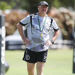 DURBAN, SOUTH AFRICA - FEBRUARY 23:  during the Cell C Sharks training session at Growthpoint Kings Park on February 23, 2015 in Durban, South Africa. (Photo by Steve Haag/Gallo Images)