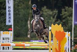 De Gooijer Lizzy, NED, Just A Moment van't Heerenhuys<br /> KWPN Kampioenschappen - Ermelo 2019<br /> © Hippo Foto - Dirk Caremans<br /> De Gooijer Lizzy, NED, Just A Moment van't Heerenhuys
