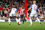 Brentford Midfielder Florian Jozefzoon (7) makes a run toward goal during the EFL Sky Bet Championship match between Brentford and Reading at Griffin Park, London, England on 16 September 2017. Photo by Andy Walter.
