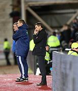 12th December 2017, Tynecastle Park, Edinburgh, Scotland; Scottish Premier League football,  Heart of Midlothian versus Dundee; Dundee manager Neil McCann