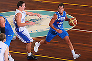 DESCRIZIONE : Cagliari Torneo Internazionale Sardegna a canestro Italia Estonia <br /> GIOCATORE : Massimo Bulleri <br /> SQUADRA : Nazionale Italia Uomini Italy <br /> EVENTO : Raduno Collegiale Nazionale Maschile <br /> GARA : Italia Estonia Italy Estonia <br /> DATA : 13/08/2008 <br /> CATEGORIA : Palleggio <br /> SPORT : Pallacanestro <br /> AUTORE : Agenzia Ciamillo-Castoria/S.Silvestri <br /> Galleria : Fip Nazionali 2008 <br /> Fotonotizia : Cagliari Torneo Internazionale Sardegna a canestro Italia Estonia <br /> Predefinita :