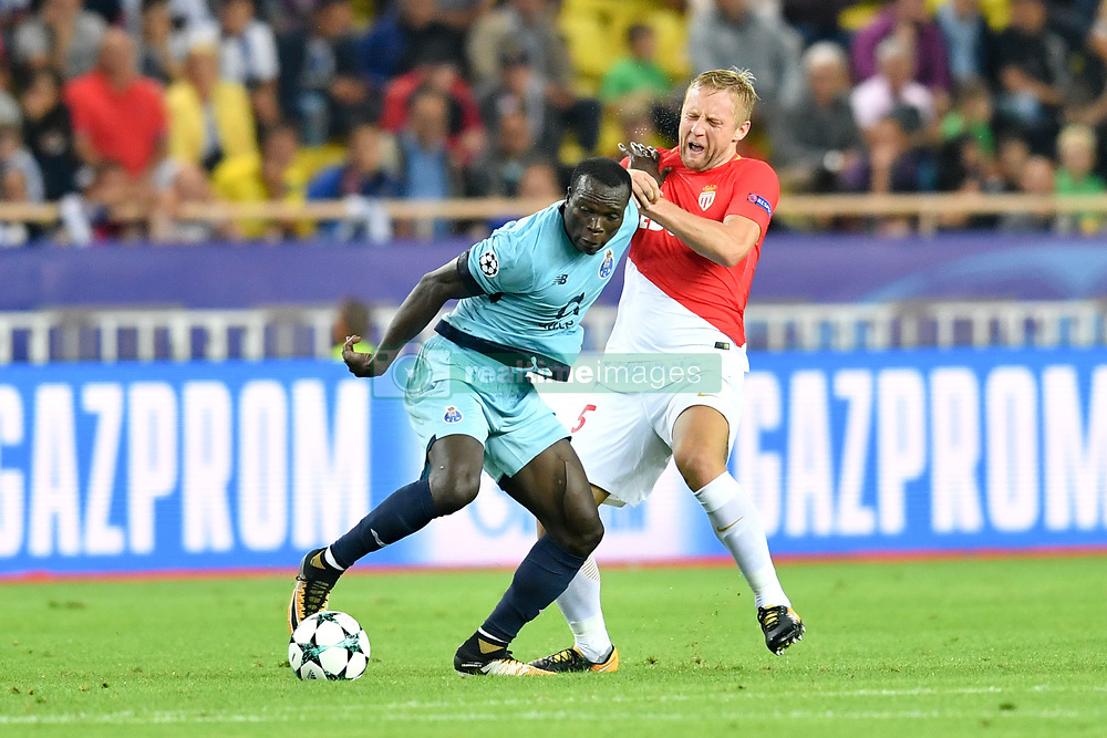 September 26, 2017 - Monaco, France - 09 Vincent Aboubakar (por) - 25 KAMIL GLIK  (Credit Image: © Panoramic via ZUMA Press)