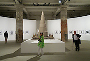 "55th Art Biennale in Venice - The Encyclopedic Palace (Il Palazzo Enciclopedico).<br /> Arsenale.<br /> Marino Auriti (U.S.A.), model of the ""Enceclopedic Palace"", 1955."