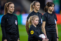 05-04-2019 NED: Netherlands - Mexico, Arnhem<br /> Friendly match in GelreDome Arnhem. Netherlands win 2-0 / Monika Mularczyk from Poland