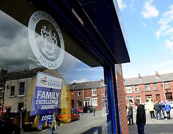Rochdale AFC Club Shop - Photo mandatory by-line: Dougie Allward/JMP - Mobile: 07966 386802 23/08/2014 - SPORT - FOOTBALL - Manchester - Spotland Stadium - Rochdale AFC v Bristol City - Sky Bet League One