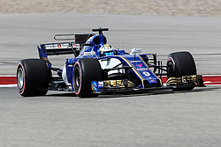 October 21, 2017 - Austin, Texas, U.S - Sauber driver Marcus Ericsson (9) of Sweden in action during the final practice before the Formula 1 United States Grand Prix race at the Circuit of the Americas race track in Austin,Texas. (Credit Image: © Dan Wozniak via ZUMA Wire)