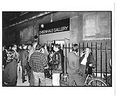 Sam Taylor Wood opening, Chisenhale Gallery, Chisenhale St. East End. London 10th Sep 1996© Copyright Photograph by Dafydd Jones 66 Stockwell Park Rd. London SW9 0DA Tel 020 7733 0108 www.dafjones.com