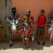 DANCING DEVILS OF NAIGUATA / DIABLOS DANZANTES DE NAIGUATA<br /> Photography by Aaron Sosa<br /> Naiguata, Vargas State - Venezuela 2010.<br /> (Copyright © Aaron Sosa)