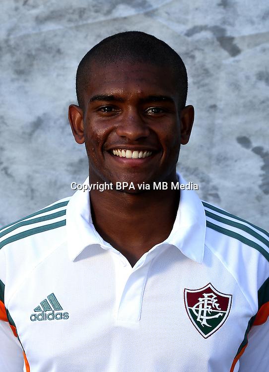 """Brazilian Football League Serie A / <br /> ( Fluminense Football Club ) - <br /> Marlon Santos da Silva Barbosa """" Marlon Santos """""""