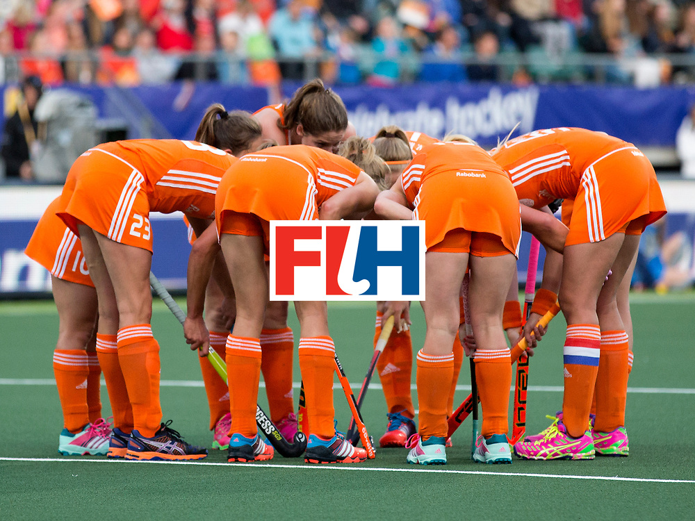 THE HAGUE - Rabobank Hockey World Cup 2014 - 2014-05-31 - WOMEN - The Netherlands - Japan - Oranje Dames<br /> Copyright: Willem Vernes