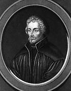 Philip Melancthon  (Schwarzerd) 1497-1560: German Protestant reformer. Engraving c1850.
