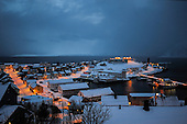 Norway-Honningsvag the northernmost city of Europe