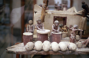 Bakery. Funerary tomb model. Ancient Egyptian. Archaeological Antiquities Museum, Cairo