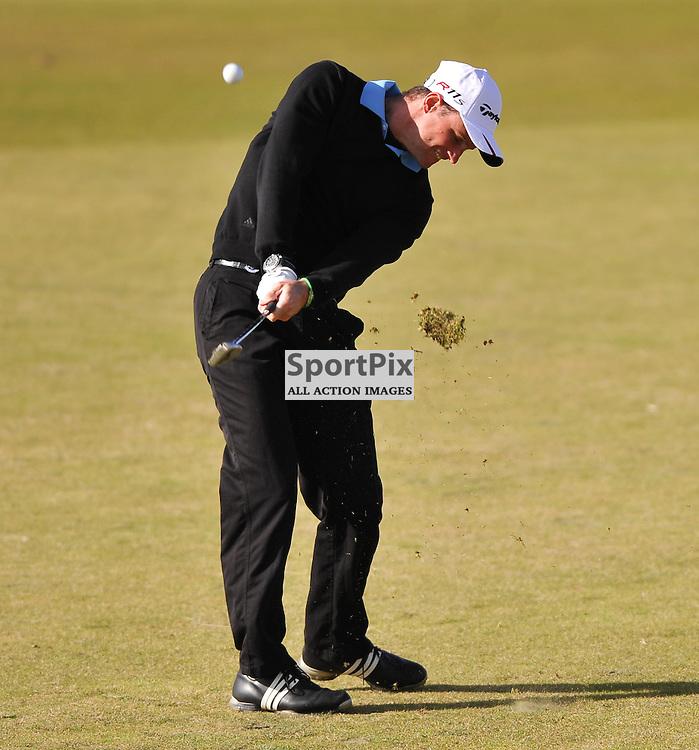 Andrew Strauss. .Alfred Dunhill Links Championship, Kingsbarns, 6th October 2012..(c)  Alex Todd | StockPix.eu