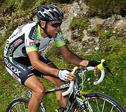 04.07.2011, AUT, 63. OESTERREICH RUNDFAHRT, 2. ETAPPE, INNSBRUCK-KITZBUEHEL, im Bild Carlos Sastre, (ESP, Geox TMC) // during the 63rd Tour of Austria, Stage 2, 2011/07/04, EXPA Pictures © 2011, PhotoCredit: EXPA/ S. Zangrando