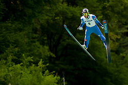 Timi Zajc of Slovenia during Ski Jumping Continental Cup 2018, on July 8, 2018 in Kranj, Slovenia. Photo by Urban Urbanc / Sportida