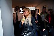 CONSTANCE GOTSOPOULOU, HELMUT NEWTON EXHIBITION, Hamiltons,  London. 12 May 2009