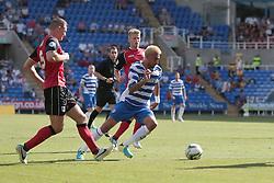 Reading's Daniel Williams on a run at goal - Photo mandatory by-line: Nigel Pitts-Drake/JMP - Tel: Mobile: 07966 386802 03/08/2013 - SPORT - FOOTBALL -  Madejski Stadium - Reading -  Reading v Ipswich Town - Sky Bet Championship