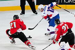 David Rodman of Slovenia during ice-hockey match between Slovenia and Hungary at IIHF World Championship DIV. I Group A Slovenia 2012, on April 18, 2012 at SRC Stozice, Ljubljana, Slovenia. (Photo By Matic Klansek Velej / Sportida.com)