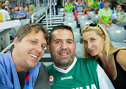 Igor Zonik during basketball match between Slovenia and Georgia at Day 2 in Group C of FIBA Europe Eurobasket 2015, on September 6, 2015, in Arena Zagreb, Croatia. Photo by Vid Ponikvar / Sportida