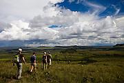 Alto Paraiso de Goias_GO, Brasil...Turistas no Parque Nacional da Chapada dos Veadeiros...Tourists in Parque Nacional da Chapada dos Veadeiros. ..Foto: JOAO MARCOS ROSA /  NITRO..