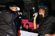 Milli Major and Big H share the stage. Uk Grime. Brighton 2014