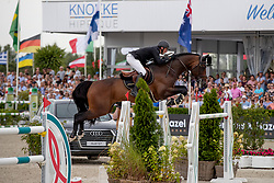 Moloney Peter, IRL, Chianti's Champion<br /> Grand Prix Rolex powered by Audi <br /> CSI5* Knokke 2019<br /> © Hippo Foto - Dirk Caremans<br /> Moloney Peter, IRL, Chianti's Champion