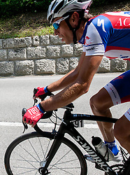 Radoslav Rogina (CRO) of Adria Mobil during Stage 3 from Skofja Loka to Vrsic (170 km) of cycling race 20th Tour de Slovenie 2013,  on June 15, 2013 in Slovenia. (Photo By Vid Ponikvar / Sportida)