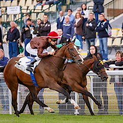 Zonza (C. Demuro) beats Elizabeth Darcy (O. Peslier) in Prix Du Bois Gr. 3, Deauville, France 01/07/2017, photo: Zuzanna Lupa / Racingfotos.com