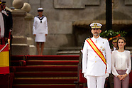 07132013 prince felipe and princess letizia navy marin