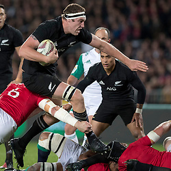 Brodie Retallick during game 7 of the British and Irish Lions 2017 Tour of New Zealand, the first Test match between  The All Blacks and British and Irish Lions, Eden Park, Auckland, Saturday 24th June 2017<br /> (Photo by Kevin Booth Steve Haag Sports)<br /> <br /> Images for social media must have consent from Steve Haag