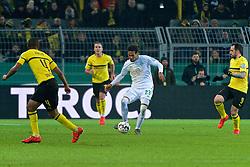 05.02.2019, Signal Iduna Park, Dortmund, GER, DFB Pokal, Borussia Dortmund vs SV Werder Bremen, Achtelfinale, im Bild Theodor Gebre Selassie (SV Werder Bremen #23) am Ball // during the German Pokal round of 16 match between Borussia Dortmund and SV Werder Bremen at the Signal Iduna Park in Dortmund, Germany on 2019/02/05. EXPA Pictures © 2019, PhotoCredit: EXPA/ Andreas Gumz<br /> <br /> *****ATTENTION - OUT of GER*****