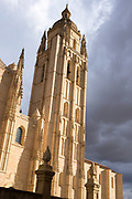 The Gothic-style Roman Catholic Cathedral of Segovia, Spain