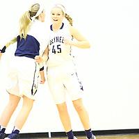Bethel University defeated Hamline University 74-51 in MIAC Women's Basketball action at the Robertson Center on Bethel University in Arden Hills, Minnesota on January 21, 2017.