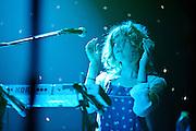 Broken Social Scene performing at Webster Hall, NYC. May 7, 2010. Copyright © 2010 Matt Eisman. All Rights Reserved.