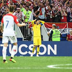 Hugo Lloris of France looks dejected during the World Cup Final match between France and Croatia at Luzhniki Stadium on July 15, 2018 in Moscow, Russia. (Photo by Anthony Dibon/Icon Sport)