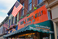 Chick & Ruths Deli, a local hangout and restaurant, Annapolis, Maryland, USA.