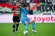 27-08-2011: Voetbal:NEC Nijmegen:Heracles Almelo:Niijmegen<br /> NEC's Remy AMIEUX in duel met Heracles Almelo's EVERTON <br /> Foto: Geert van Erven