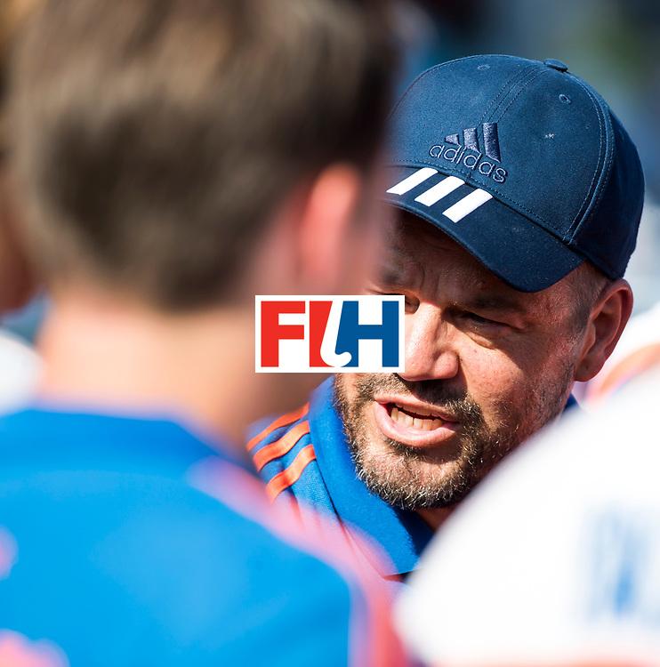 BREDA - bondscoach Max Caldas (Ned)   na Nederland- India (1-1) bij  de Hockey Champions Trophy. India plaatst zich voor de finale.  COPYRIGHT KOEN SUYK