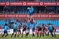 PRETORIA, SOUTH AFRICA - MAY 06: Lood de Jager of the Bulls during the Super Rugby match between Vodacom Bulls and Crusaders at Loftus Versfeld on May 06, 2017 in Pretoria, South Africa.<br /> (Photo by Anton Geyser/Gallo Images)