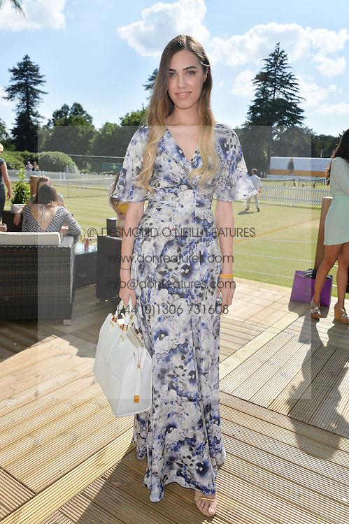 AMBER LE BON at the Summer Solstice Party during the Boodles Tennis event hosted by Beulah London and Taylor Morris at Stoke Park, Park Road, Stoke Poges, Buckinghamshire on 21st June 2014.