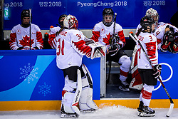 22-02-2018 KOR: Olympic Games day 13, PyeongChang<br /> Final Ice Hockey Canada - USA 2-3 / Teleurstelling team Canada