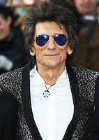 Ronnie Wood, The Rolling Stones Exhibitionism - Opening Night Gala, Saatchi Gallery, London UK, 04 April 2016, Photo by Brett D. Cove