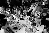 "food being served at the ""hostellerie du nord"" in France..© Owen Franken.........."