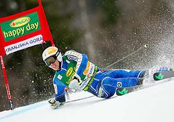 MYHRER Andre of Sweden competes during the 1st Run of 7th Men's Giant Slalom - Pokal Vitranc 2013 of FIS Alpine Ski World Cup 2012/2013, on March 9, 2013 in Vitranc, Kranjska Gora, Slovenia. (Photo By Vid Ponikvar / Sportida.com)