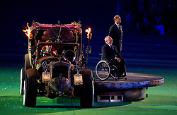 President of the IPC, Philip Craven  during the closing ceremony of the London 2012 Paralympic Games on September 9, 2012, in Olympics stadium, Stratford, London, Great Britain. (Photo by Vid Ponikvar / Sportida.com)